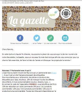 La Gazette vignette